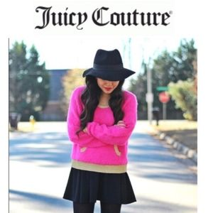 Juicy Couture Fuzzy Pullover Sweater
